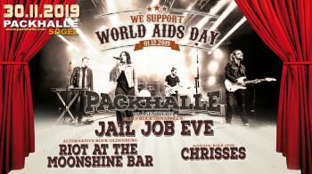 Drei schicke Bands zum Welt-Aids-Tag in der Packhalle...